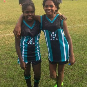 MITS – Shaniya and Latoya make the representative football team